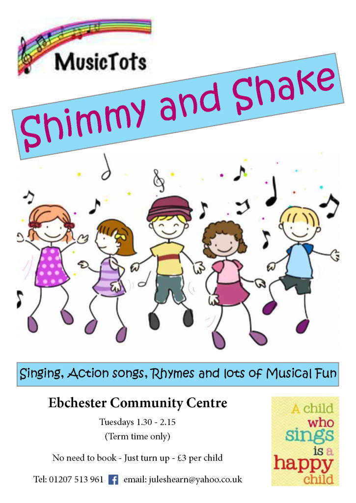 Shimmy and Shake 2 Mar