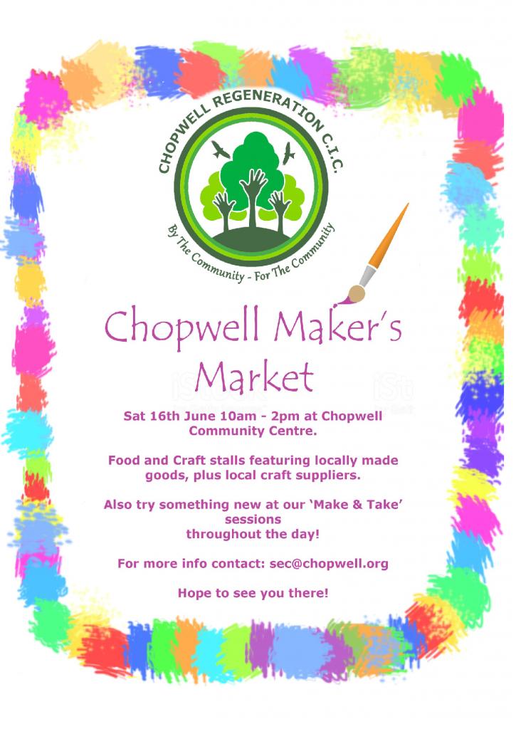Chopwell market flier 2018